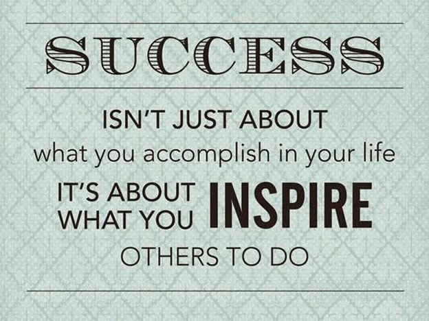 success inspire quote