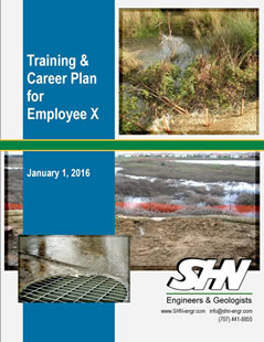 training and career plan cover