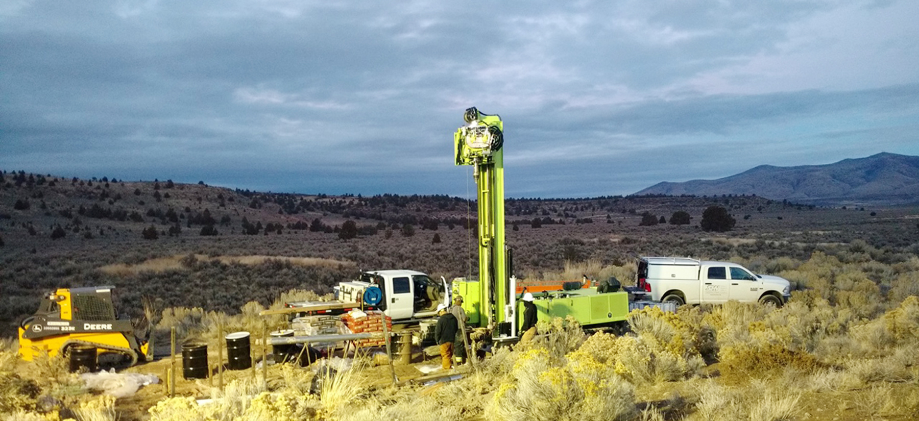 High desert groundwater monitoring